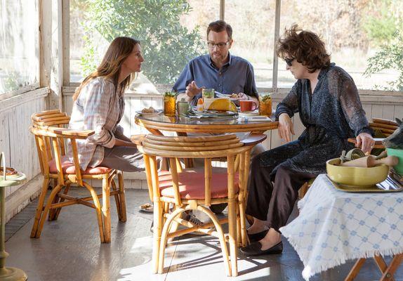 Julia Roberts, Ewan McGregor e Meryl Streep em cena de August: Osage County