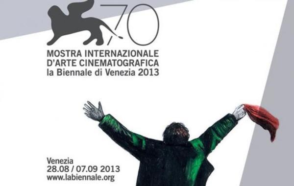 Pôster da 70ª edição do Festival de Veneza, inspirada pelo filme A Eternidade e Um Dia, de Theodoro Angelopoulos