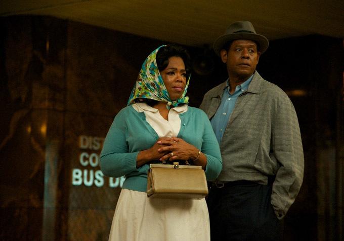 Oprah Winfrey e Forest Whitaker em cena de The Butler