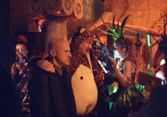 The Zero Theorem, de Terry Gilliam. Em cena, Christoph Waltz e David Thewlis. (photo by www.indiewire.com)