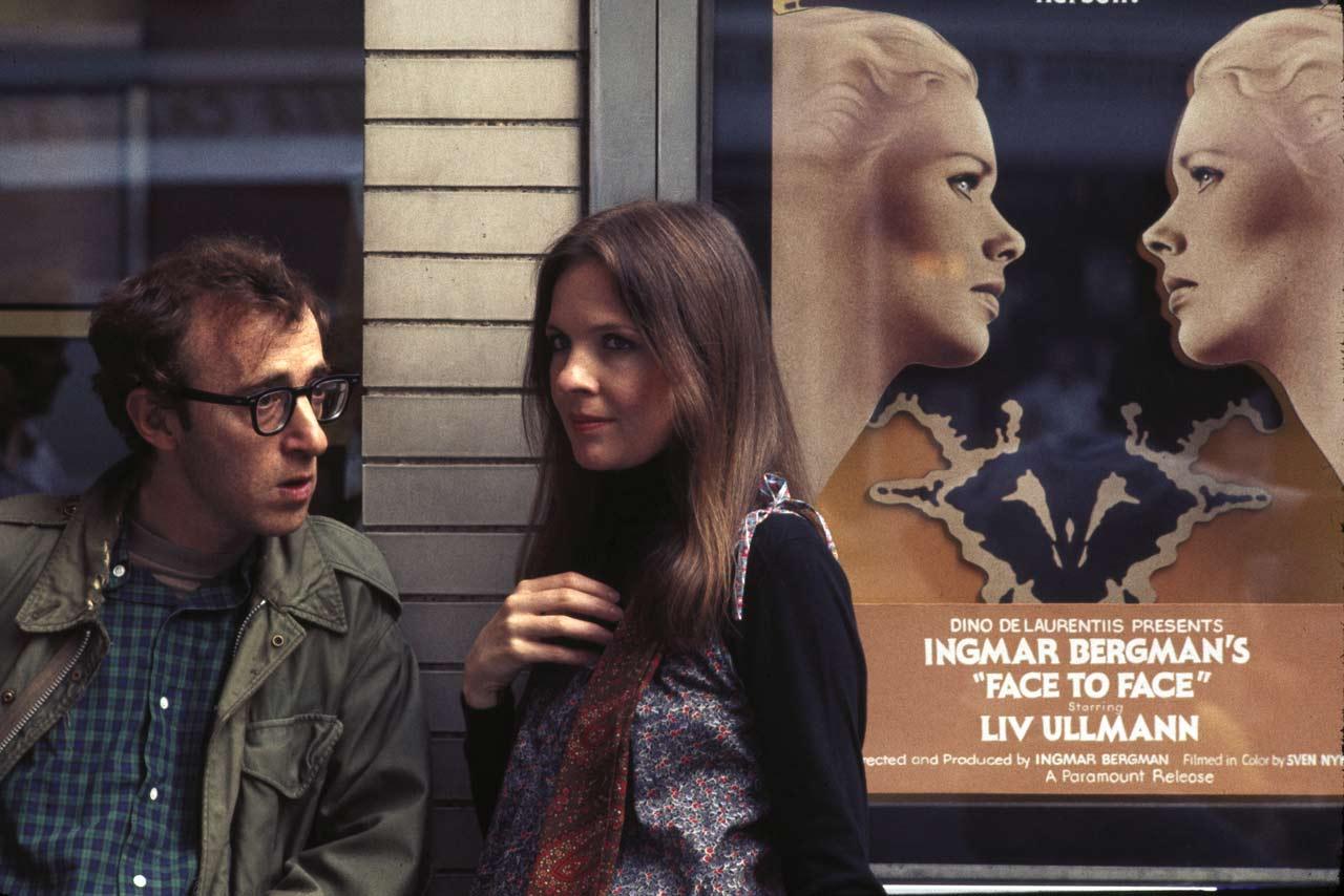 Woody Allen e Diane Keaton em cena de Noivo Neurótico, Noiva Nervosa (Annie Hall/ 1977). Vencedor de 4 Oscars. (photo by www.cinetoscopio.com.br)