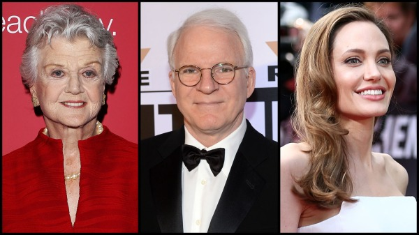 Angela Lansbury, Steve Martin e Angelina Jolie serão homenageados juntamente com o figurinista italiano Piero Tosi (photo by www.hollywoodreporter.com)