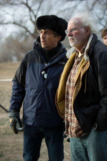 Alexander Payne dirige o veterano Bruce Dern em Nebraska (photo by www.outnow.ch)