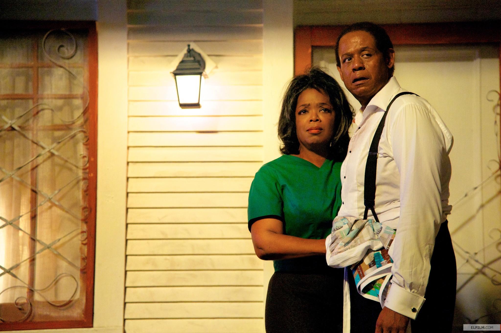 Oprah Winfrey e Forest Whitaker formam o casal Gaines: premiações são esperadas (photo by www.elfilm.com)
