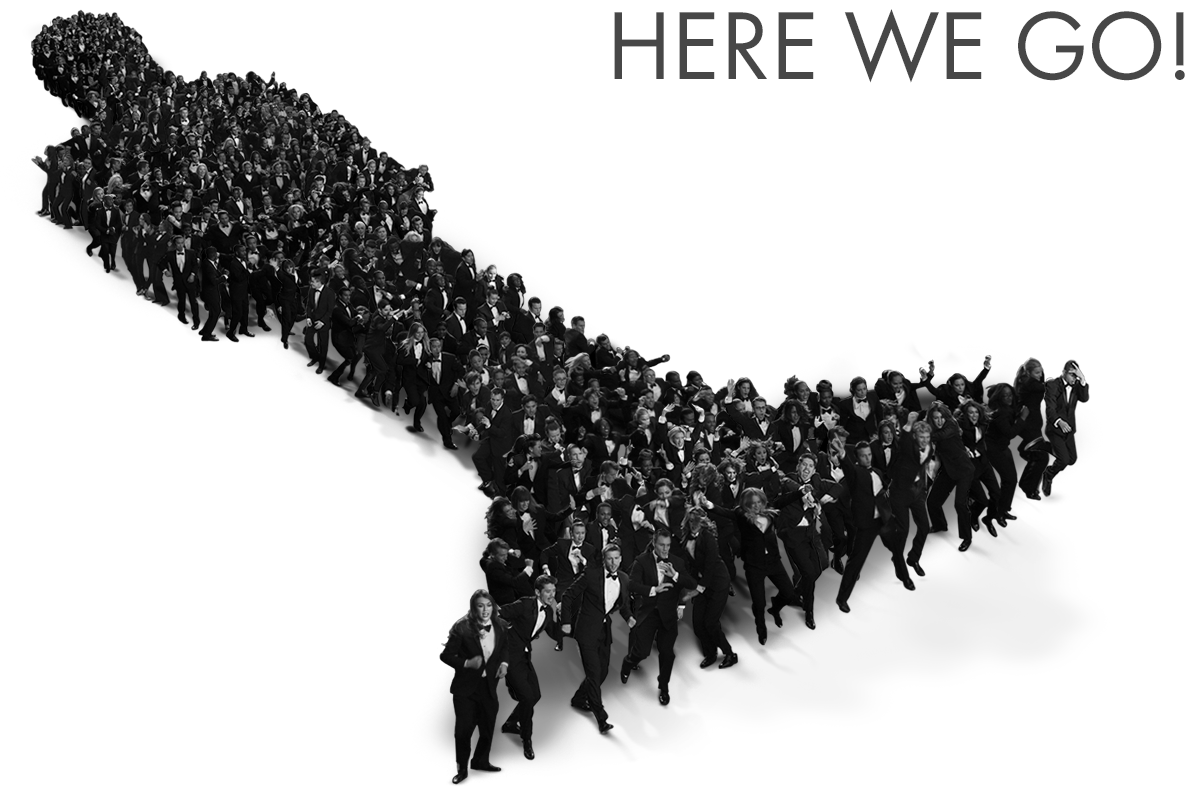 Um dos logos do Oscar 2014: Here We Go! (photo by www.myfilm.gr)