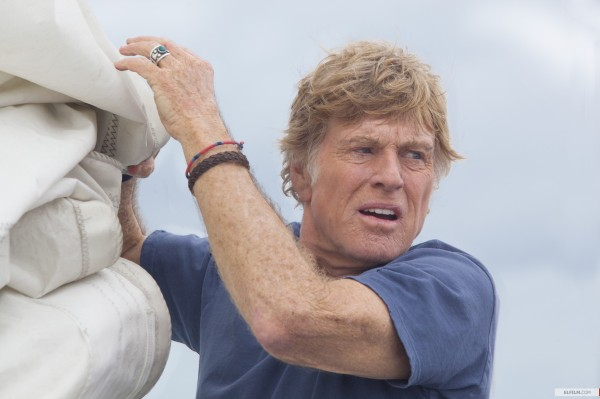 Aos 77 anos, Robert Redford é o único ator do segundo longa do jovem J.C. Chandor, All is Lost (photo by www.elfilm.com)