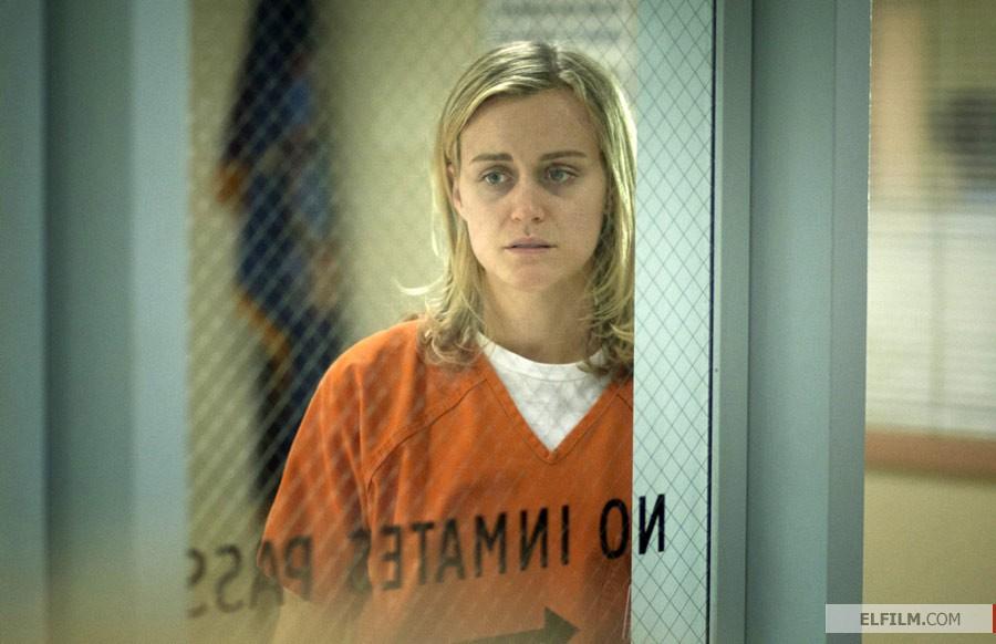 Taylor Schilling em Orange is the New Black confirma crescimento das produções da Netflix (photo by www.elfilm.com)