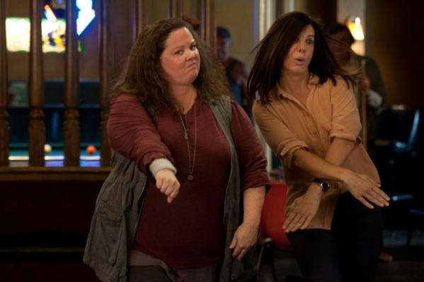 Melissa McCarthy e Sandra Bullock disputam o prêmio de Atriz em Comédia por As Bem-Armadas (photo by ww.outnow.ch)