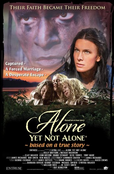 Pôster do filme Alone Yet Not Alone (photo by cinemagia.ro)