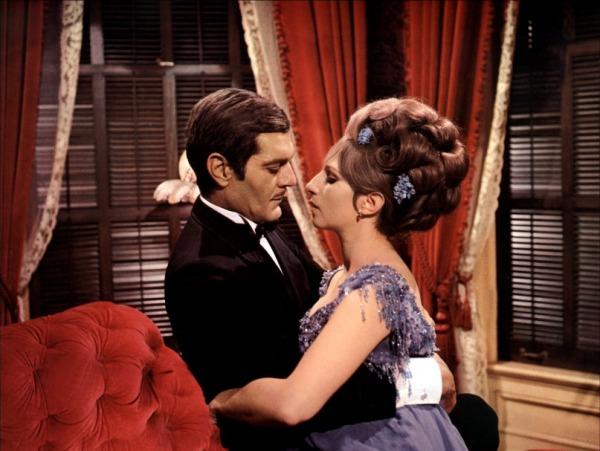 Com Omar Shariff, Barbra Streisand em Funny Girl - A Garota Genial (photo by oscarfilmeafilme.blogspot.com.br)