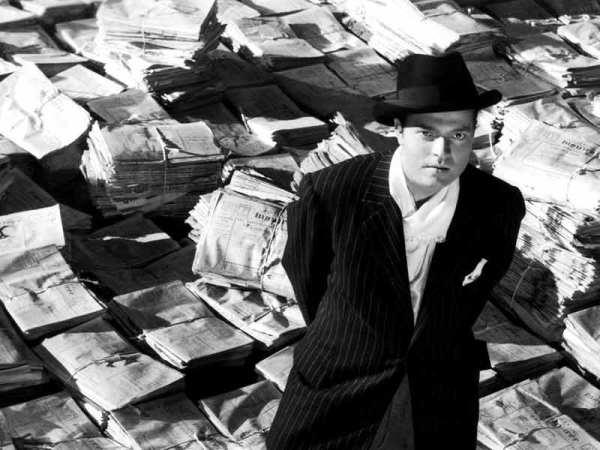 Orson Welles em Cidadão Kane (photo by smallpicturesblog.com)