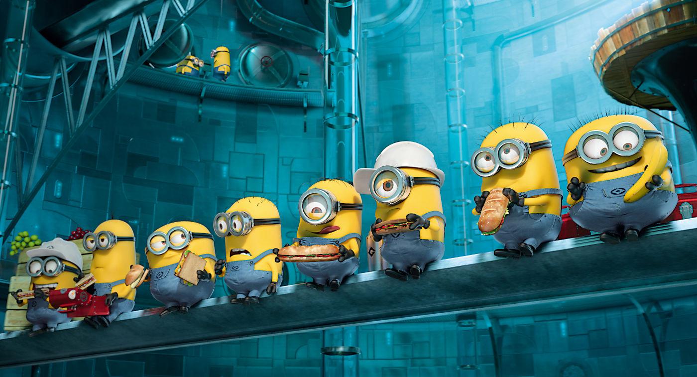 A animação Meu Malvado Favorito 2 desbancou Universidade Monstros, da Pixar (photo by outnow.ch)