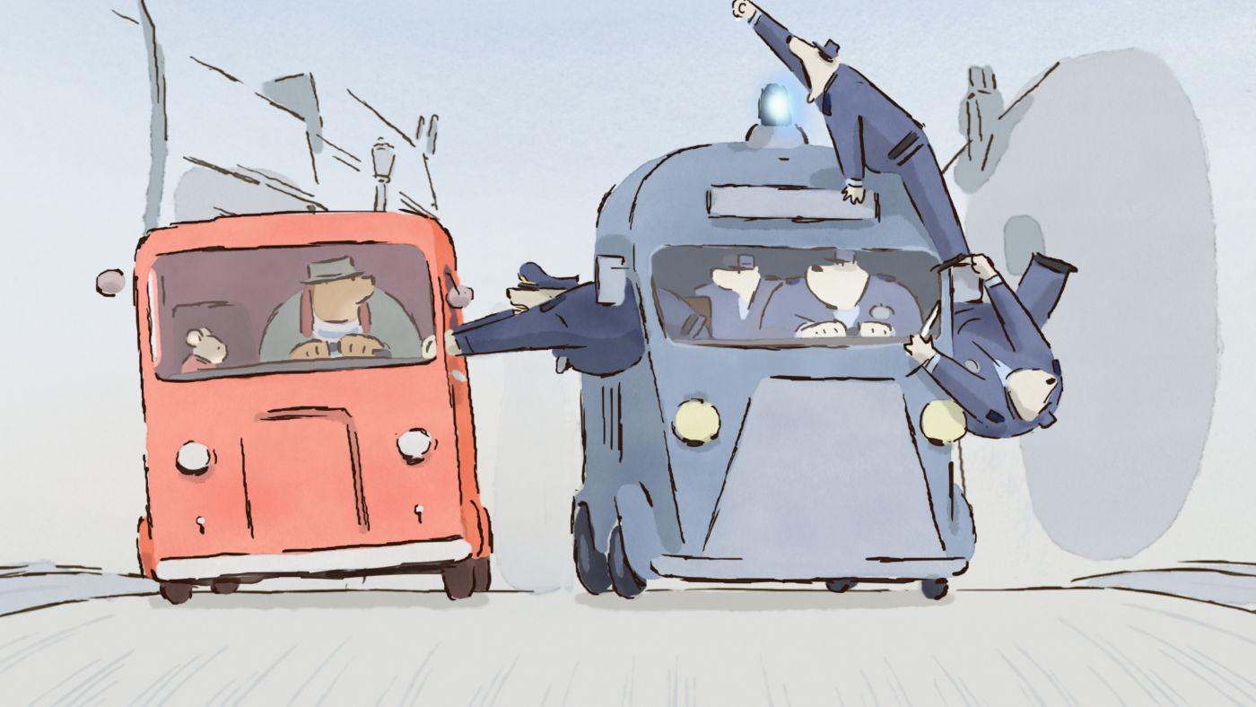 Cena de Ernest & Celestine, indicado ao Oscar de Animação (photo by outnow.ch)