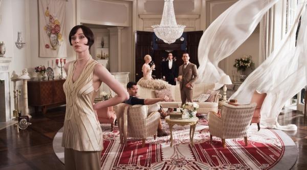 Meticuloso trabalho de direção de arte de Catherine Martin em O Grande Gatsby (photo by www.beyondhollywood.com)