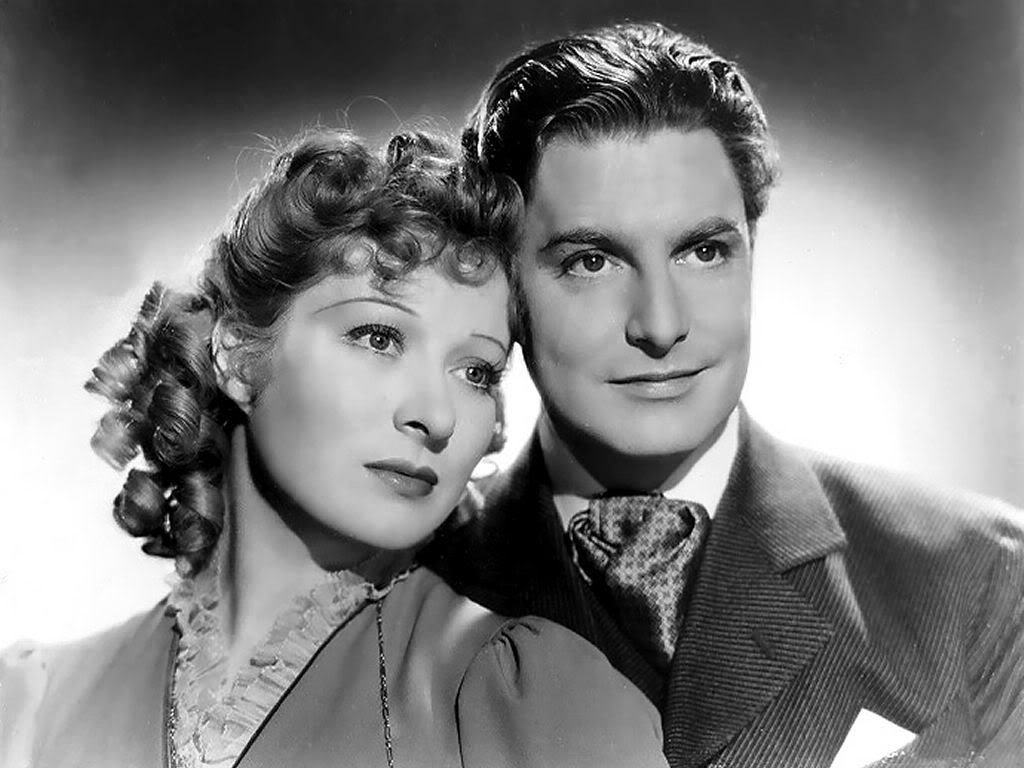 Greer Garson com Robert Donat em Adeus Mr. Chips (photo by forums.tcm.com)