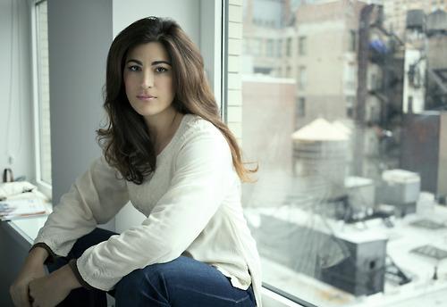 A diretora egípcia Jehane Noujaim (photo by Matt Furman)