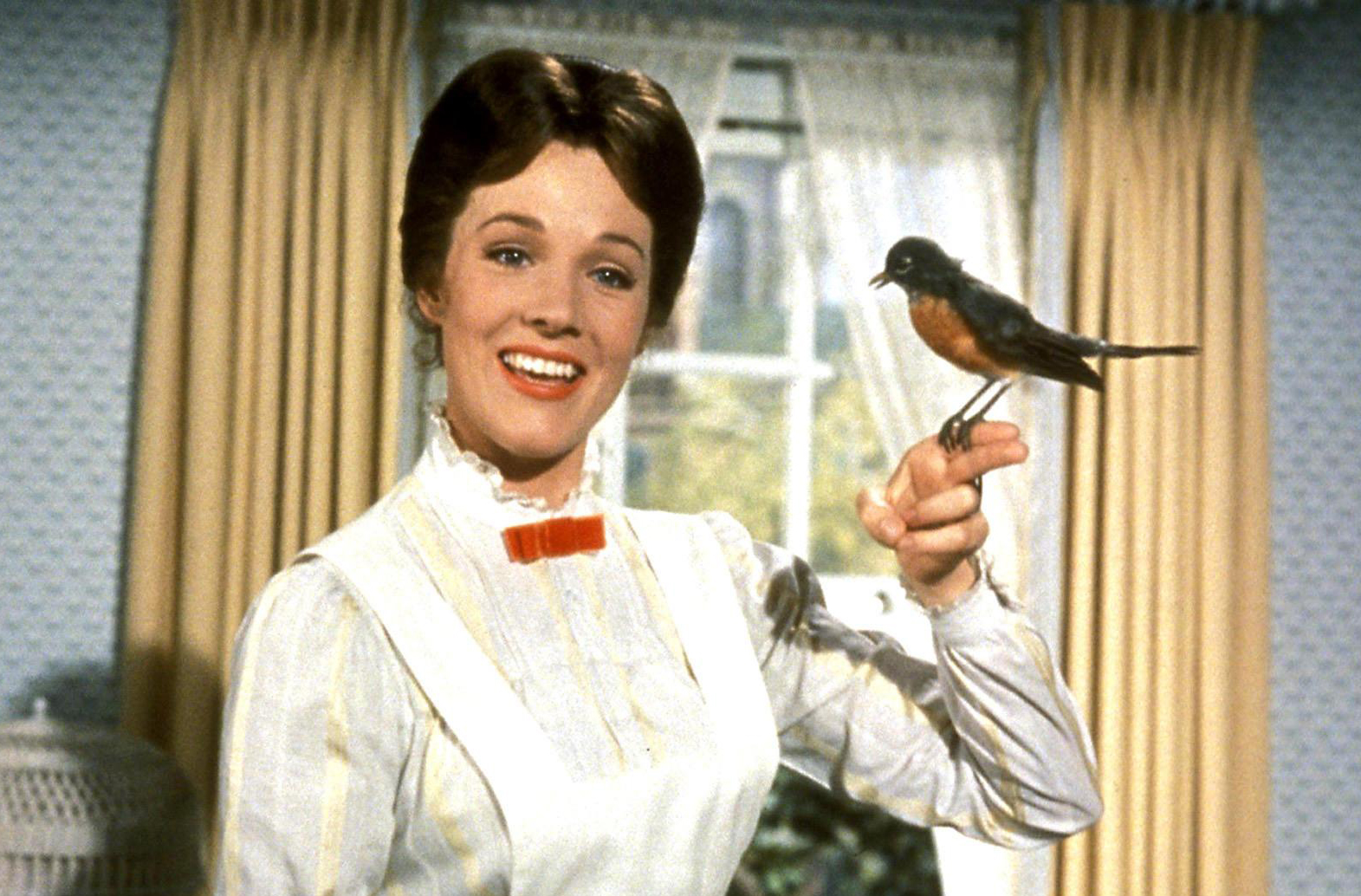 Julie Andrews em Mary Poppins (photo by derekwinnert.com)