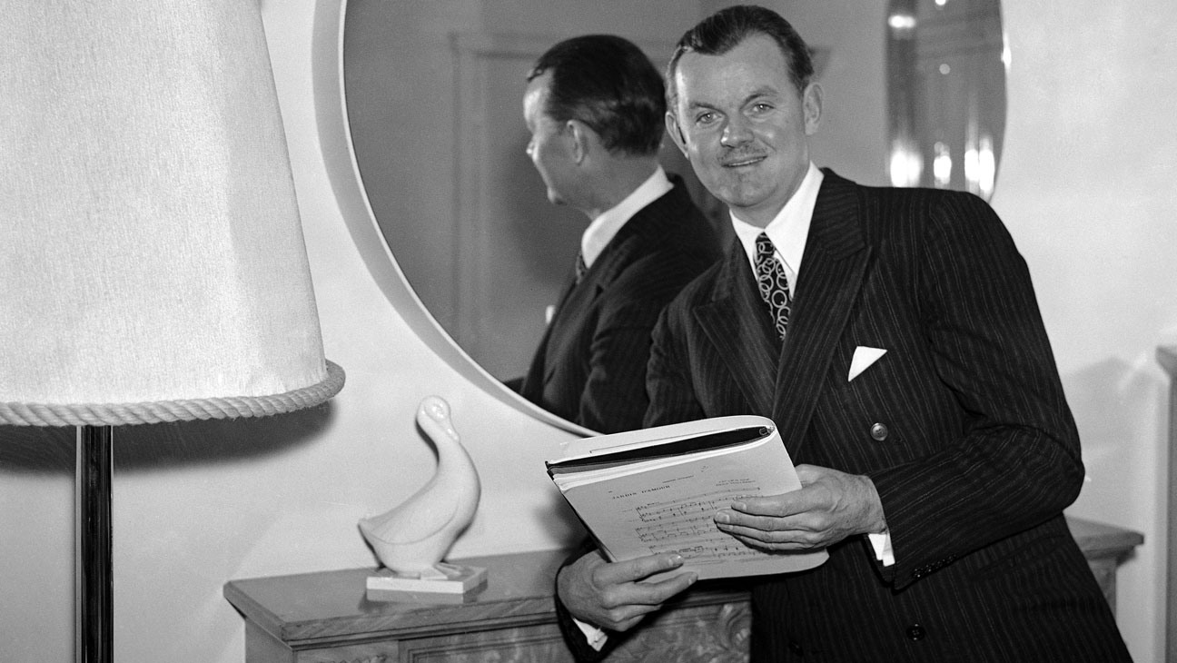 Lawrence Tibbett em Amor de Zíngaro (photo by AP photo)