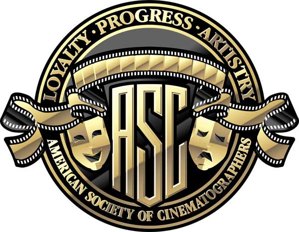 Brasão da ASC: American Society of Cinematographers (photo by btlnews.com)