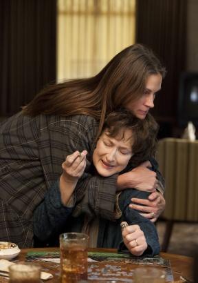 Ambas indicadas por Álbum de Família: Meryl Streep e Julia Roberts (photo by www.outnow.ch)