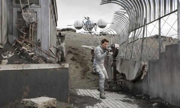 Futuro apocalíptico mais clean de Oblivion (photo by www.beyondhollywood.com)