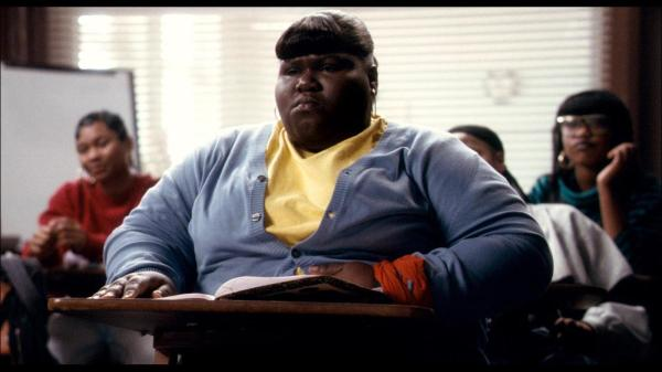 Gabourey Sidibe em Preciosa (photo by www.outnow.ch)