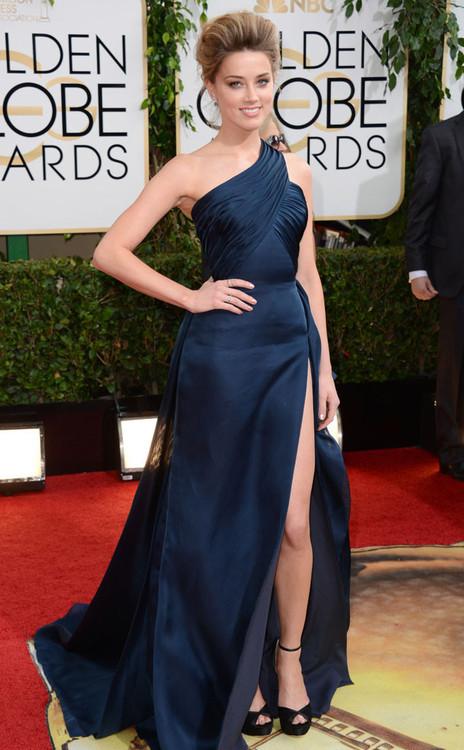 Amber Heard em Versace