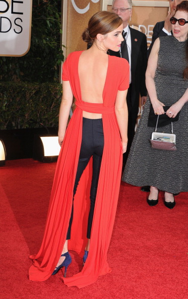Emma Watson tem um futuro brilhante, mas acho que precisa melhorar essa moda