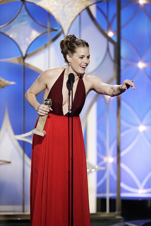 Amy Adams ganha seu primeiro Globo de Ouro por Trapaça