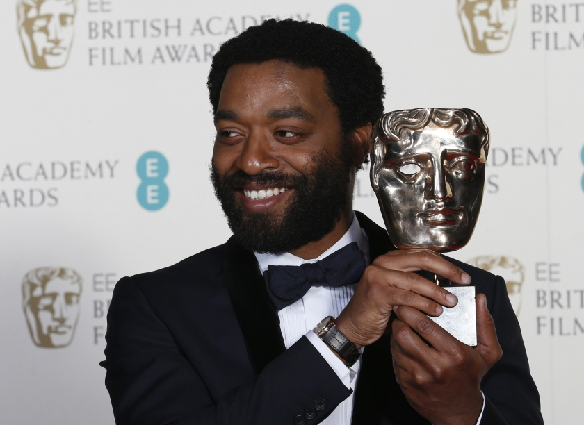 MELHOR ATOR: CHIWETEL EJIOFOR (12 ANOS DE ESCRAVIDÃO). O ator foi bastante aplaudido no Royal Opera House em Londres (photo by Reuters)