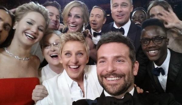 Ellen DeGeneres reuniu a galera para um selfie