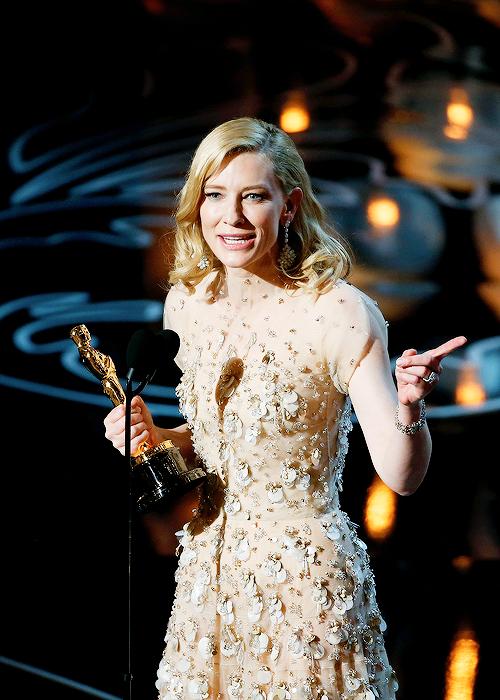 Cate Blanchett por Blue Jasmine