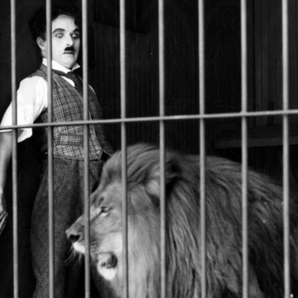 Charles Chaplin em cena de O Circo (photo by telecinebrasil.blogspot.com)
