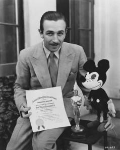 Walt Disney recebe reconhecimento por sua criação: Mickey Mouse (photo by oscars.org)