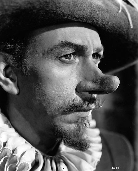 Como Cyrano de Bergerac, José Ferrer faturou seu único Oscar (photo by acertaincinema.com)