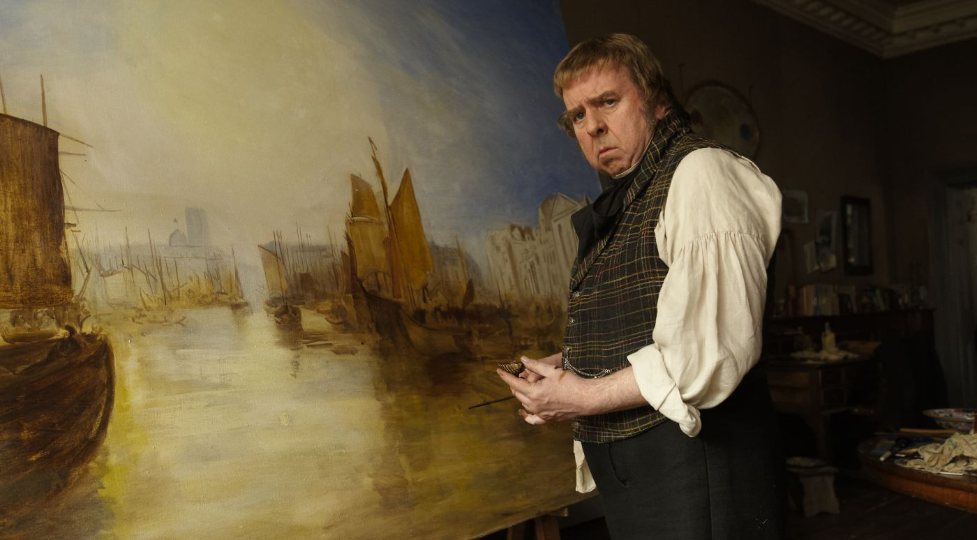 Timothy Spall (Mr. Turner) - photo by outnow.ch
