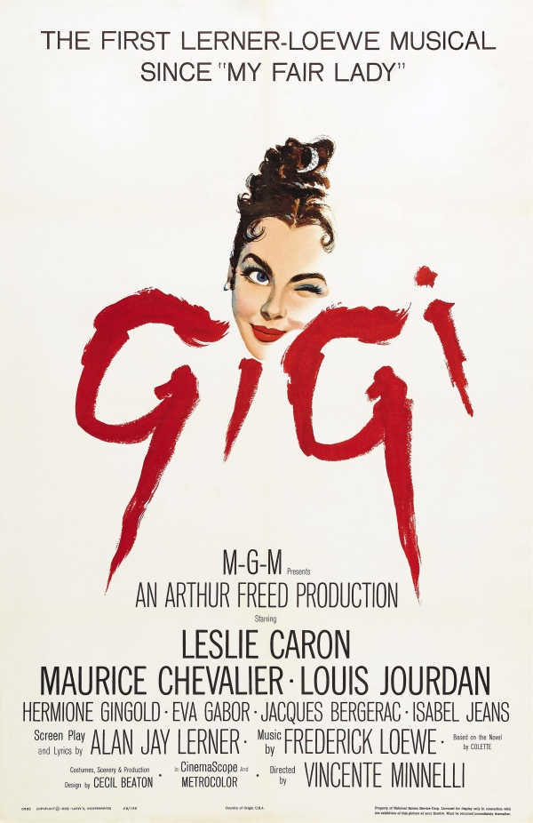 Gigi (Gigi), de Vincente Minnelli: 9 Oscars (photo by doctormacro.com)
