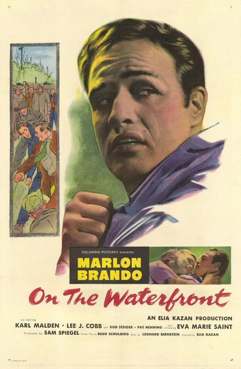 Sindicato de Ladrões (On the Waterfront), de Elia Kazan: 8 Oscars