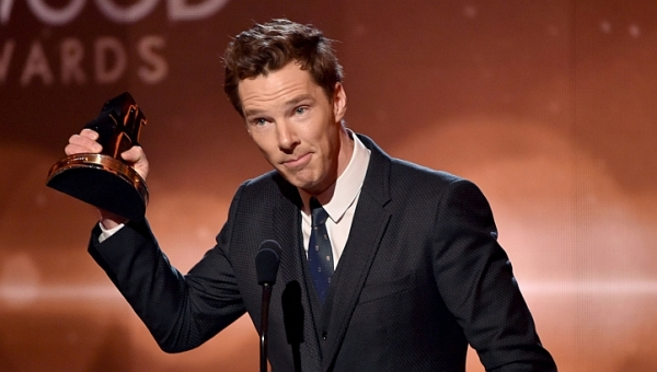 Benedict Cumberbatch se firma como jovem ator prodígio de Hollywood e segue como um dos favoritos ao Oscar por The Imitation Game (photo by straitstimes.com)