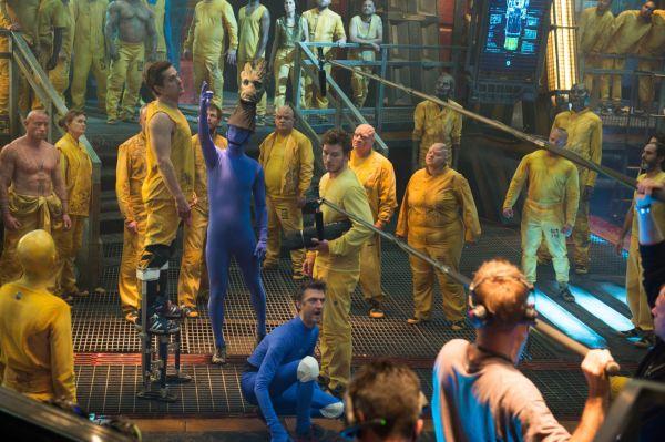 E os efeitos por trás do filme na mesma cena (photo by outnow.ch)