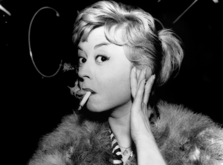 Giulietta Masina como a personagem Cabiria (photo by cineyteatro.es)