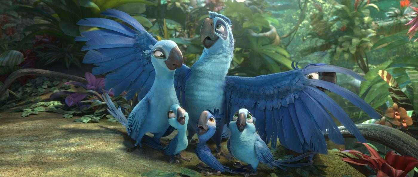 """A animação Rio 2, do brasileiro Carlos Saldanha, concorre com 4 canções originais. Pelo primeiro filme, foi indicado por """"Real in Rio"""", mas perdeu para o filme dos Muppets (photo by outnow.ch)"""