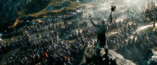 Cena semelhante a de O Senhor dos Anéis: O Retorno do Rei de O Hobbit: A Batalha dos Cinco Exércitos (photo by outnow.ch)