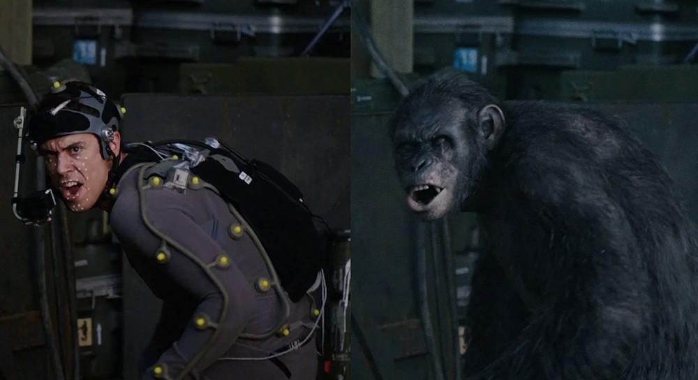 Toby Kebbell em trajes de motion capture interpretando Koba (photo by nuzzel.com)