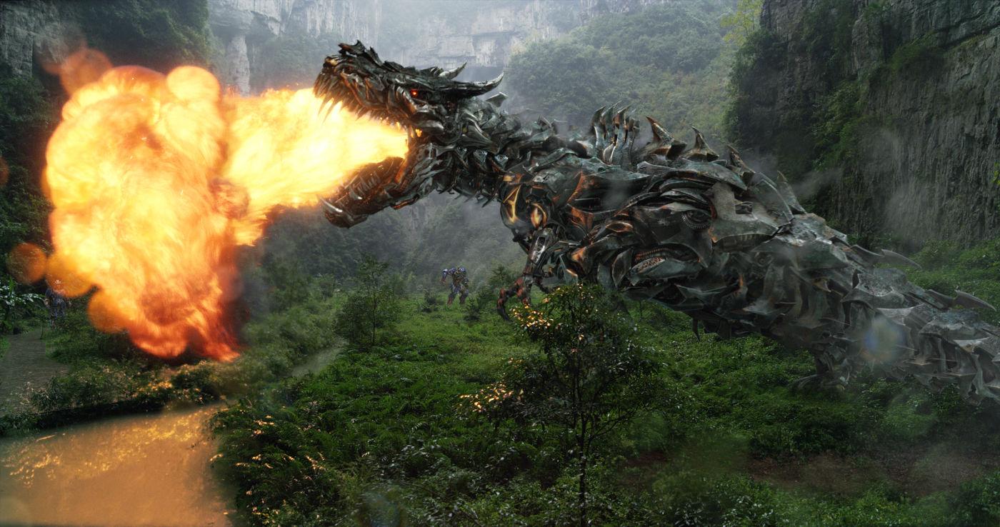 Jurassic Park? Não. Transformers: A Era da Extinção já está se adiantando num reboot da franquia da série dos dinossauros (photo by outnow.ch)