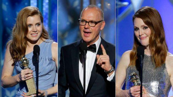 Amy Adams, Michael Keaton e Julianne Moore podem ter garantido suas indicações ao Oscar. Podem. (photo by absnews.com)