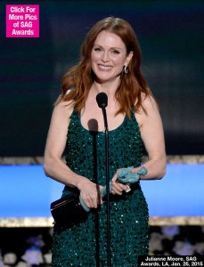 Julianne Moore (Para Sempre Alice) - photo by Getty Images