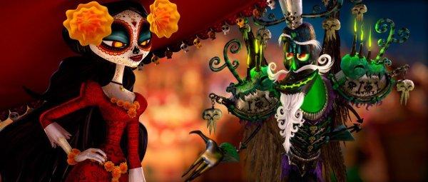 Cena de Festa no Céu, animação produzida por Guillermo del Toro (photo by outnow.ch)