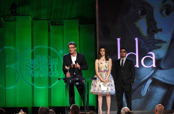 O diretor Pawel Pawlikowski discursa por Ida (photo by pictures.zimbio.com)