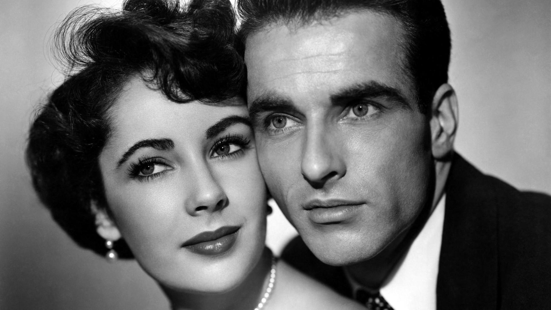 Elizabeth Taylor e Montgomery Clift como o casal perfeito de Um Lugar ao Sol (photo by filmkijker.files.wordpress.com)